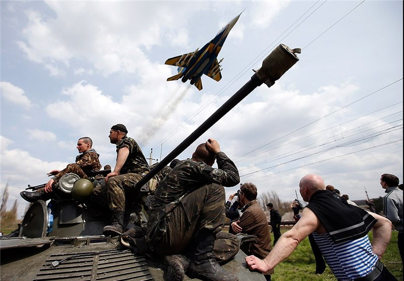 Ukraine Says Rebels Shot Down Fighter Jet
