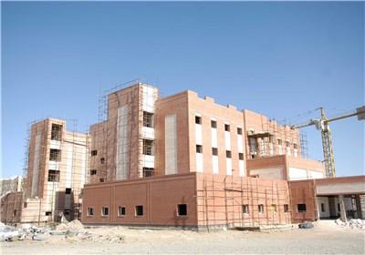 بیمارستان درحال ساخت تامین اجتماعی بیرجند