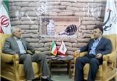 فرماندار ارومیه از دفتر خبرگزاری تسنیم آذربایجان غربی بازدید کرد