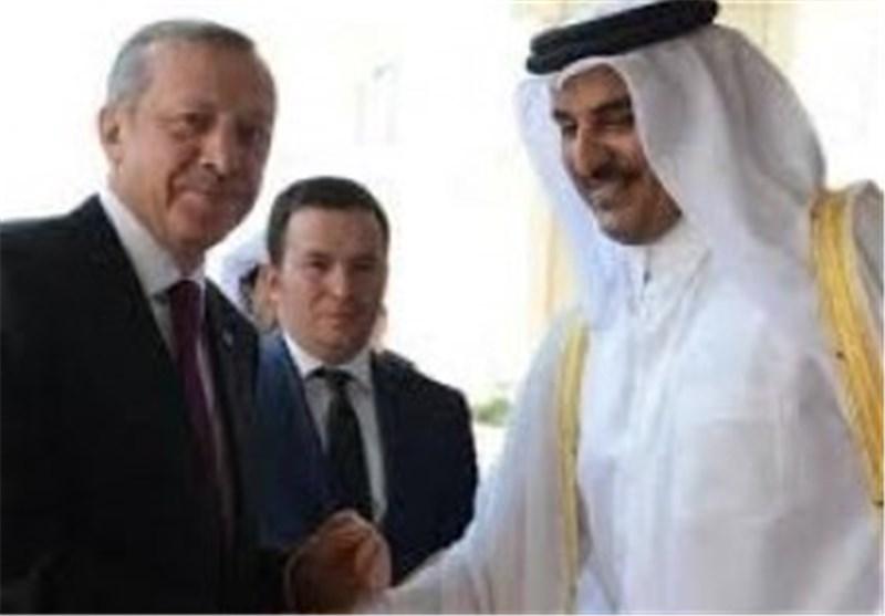 أمیر قطر یصل الیوم إلى ترکیا لبحث العدوان الصهیونی على قطاع غزة