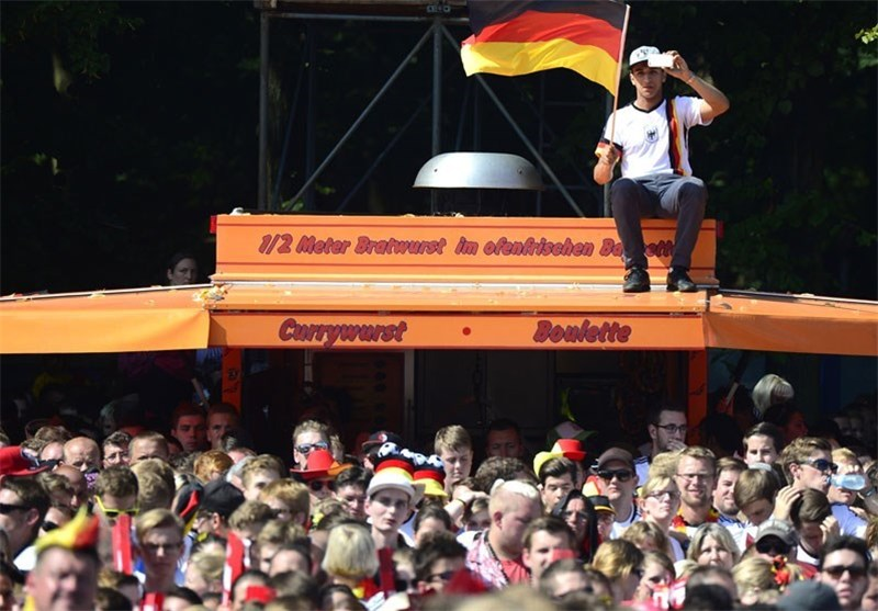 حواشی دیدنی قهرمانی آلمان و باخت آرژانتین