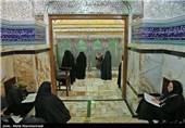 تهران| حال و هوای حرم عبدالعظیم حسنی(ع) در هفته بزرگداشت سیدالکریم+فیلم