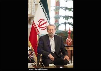 رئیس مجلس الشوری الاسلامی یستقبل رئیس لجنة العلاقات الخارجیة الاسبانی