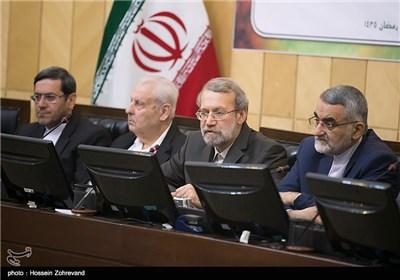 سخنرانی علی لاریجانی رئیس مجلس شورای اسلامی در