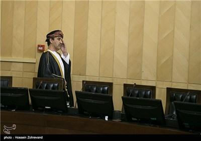 دیدار سفرای کشورهای اسلامی با رئیس مجلس