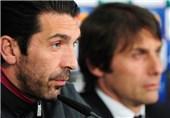 بوفون: کونته برای هدایت تیم ملی ایتالیا مردد است