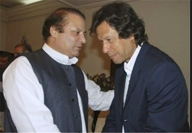 نواز شریف و عمران خان