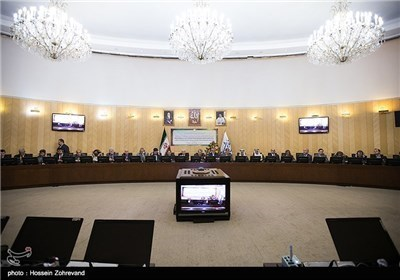 لاریجانی یستقبل سفراء الدول الاسلامیة فی طهران
