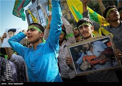 Iranian People Condemn Israeli Attacks on Gaza