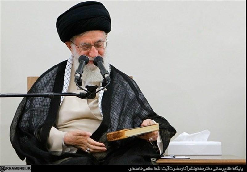 کتاب همیشه حاضر در دیدار دولتها با رهبر انقلاب