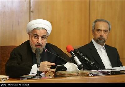 سخنرانی حجت الاسلام روحانی رئیس جمهور در جلسه هیئت دولت