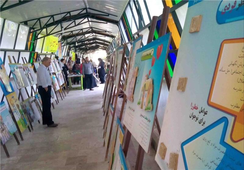 نمایشگاه توانمندیهای افراد تحت پوشش بهزیستی گرگان گشایش یافت