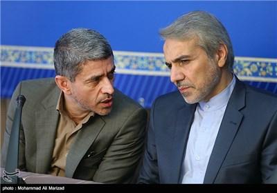 گفتگوی نوبخت سخنگوی دولت با علی طیب نیا وزیر اقتصاد و دارایی