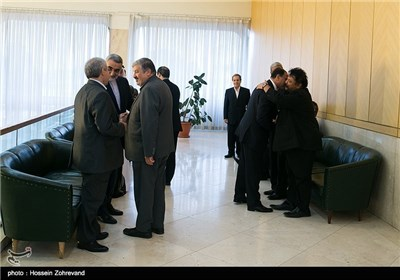 Ambassadors of Islamic Countries Meet Iran Parliament Speaker