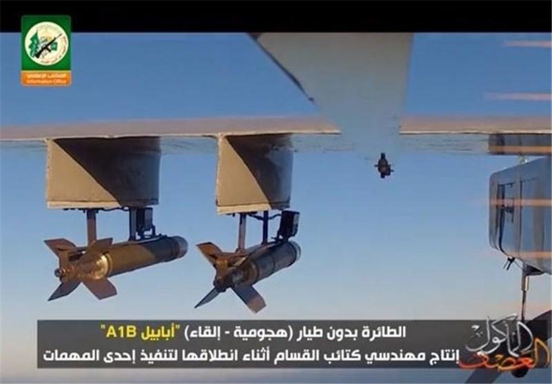 طائرات من دون طیار لکتائب القسام +فیدیو