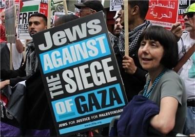 تجمع احتجاجی أمام مکتب الامم المتحدة فی طهران دعما للشعب الفلسطینی فی غزة