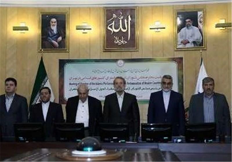 لاریجانی : فلسطین تشکل ساحة لاختبار الدول الاسلامیة