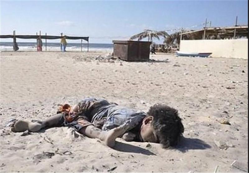 شهادت 4کودک از یک خانواده فلسطینی در حمله جدید اسرائیل به غزه+عکس