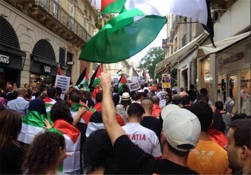 تظاهرات ضد اسرائیلی - فرانسه