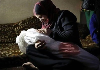 مادر فلسطینی
