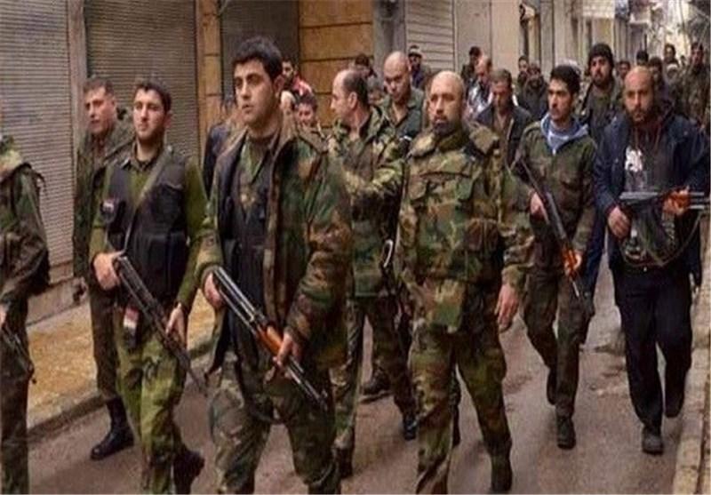قائد کتیبة وعشرات المسلحین بریف حلب یسلمون أنفسهم للجیش السوری