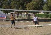 مسابقات تنیس ساحلی قهرمانی کشور در استان گلستان آغاز شد