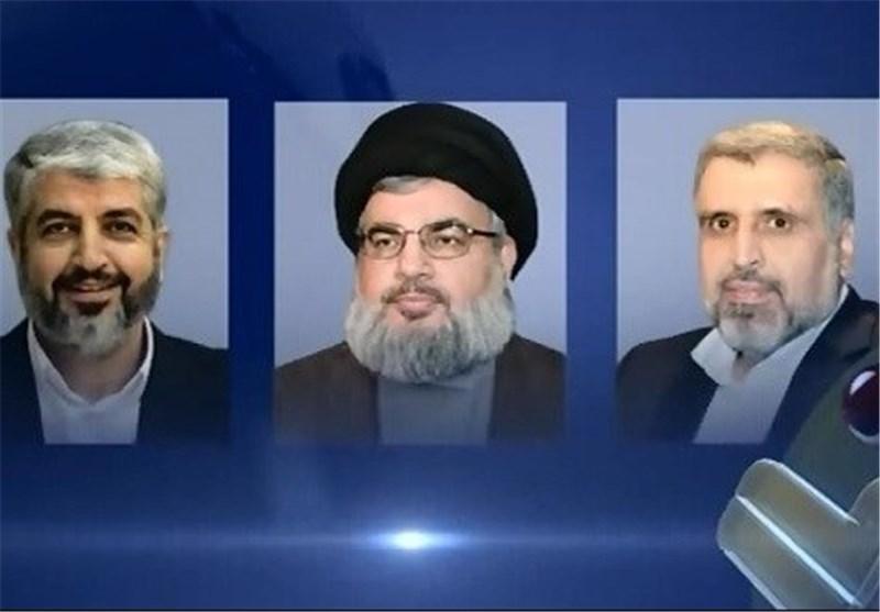 السید نصر الله یهاتف مشعل وشلّح ویؤکد وقوف حزب الله إلی جانب المقاومة الفلسطینیة