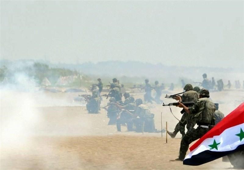"""مواجهات عنیفة بین الجیش السوری وعصابات """"داعش"""" فی الحسکة شرق سوریا"""