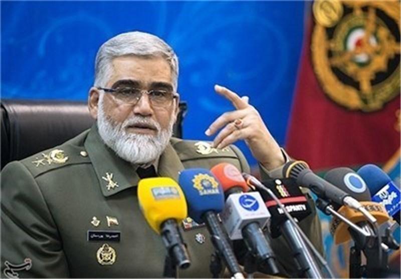 قائد سلاح البر : النصر سیکون حلیف فلسطین للمرة الرابعة