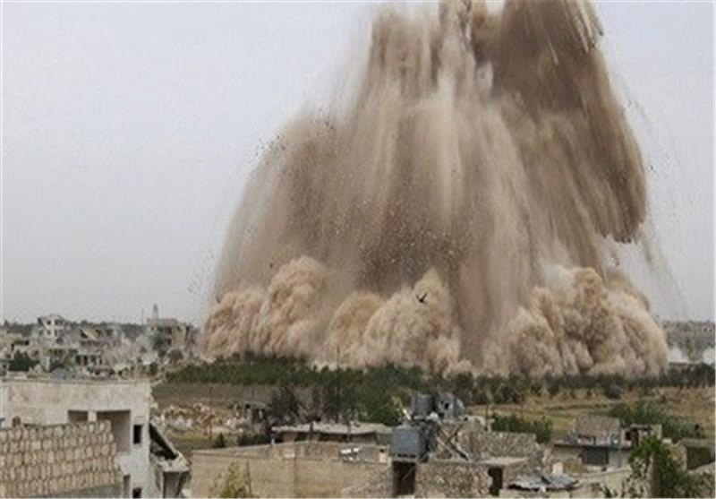 الجیش السوری یفجر نفقاً للإرهابیین بطول 400 متر فی حی جوبر بریف العاصمة دمشق