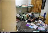 حضور وزیر بهداشت در مجتمع خوابگاه دانشجویی امام علی(ع)
