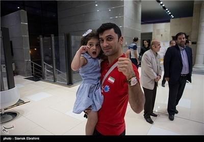 Iran Volleyball Team Returns Home