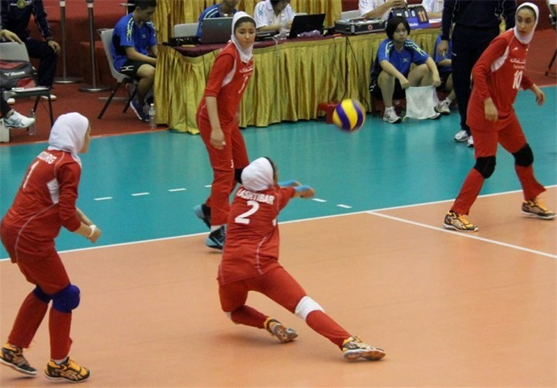 Iran Fails to Advance to Asian Women's U-19 Volleyball C'ship Quarters