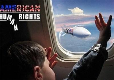 نمایش حقوق بشر آمریکایی در جنایت پرواز ۶۵۵ ؛ بارانی از پیکرهای بیجان