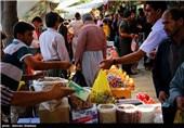 خرید آجیل و شیرینی در آستانه عید سعید فطر - کردستان