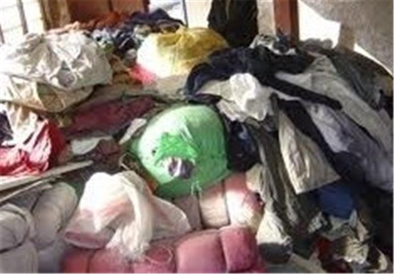 2 محموله یکمیلیارد ریالی پوشاک قاچاق در اراک کشف شد