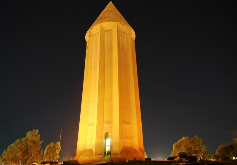 بازديدبیش-از-۱۰-هزار-گردشگر-از-برج-جهانی-قابوس-در-گنبدکاووس