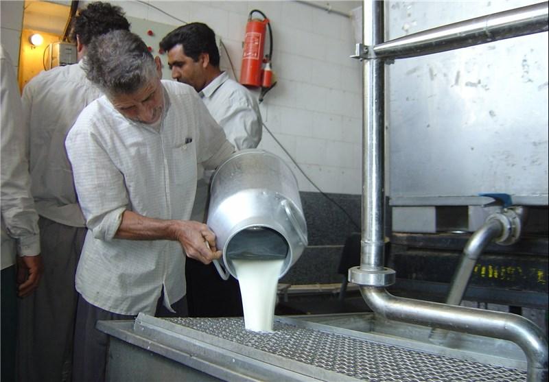 قیمت شیر خام