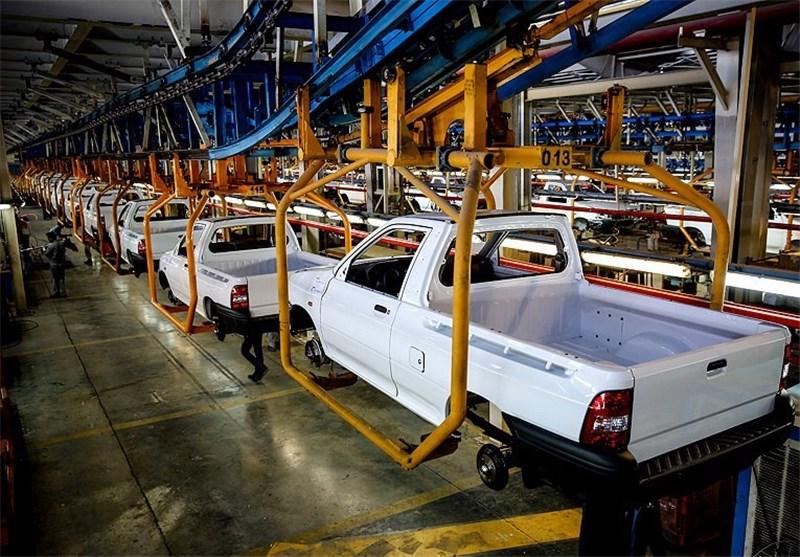 625 هزار دستگاه خودرو در کشور تولید شد