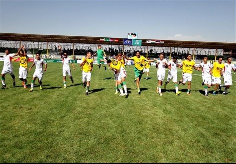 فوتبال زیر 14 سال آسیا در همدان