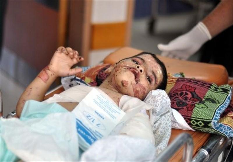 """قصة الطفل """" یامن"""" تزیح النقاب عن وحشیة جیش الاحتلال الصهیونی"""
