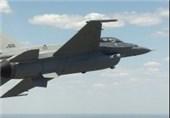 سقوط یک فروند جنگنده اف-16 نیروی هوایی آمریکا