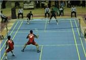 رقابتهای بدمینتون قهرمانی نوجوانان کشور در سمنان آغاز شد