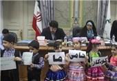 حضور کودکان حامی غزه تا بیانیه به زبان انگلیسی رئیس شورای رشت + تصاویر