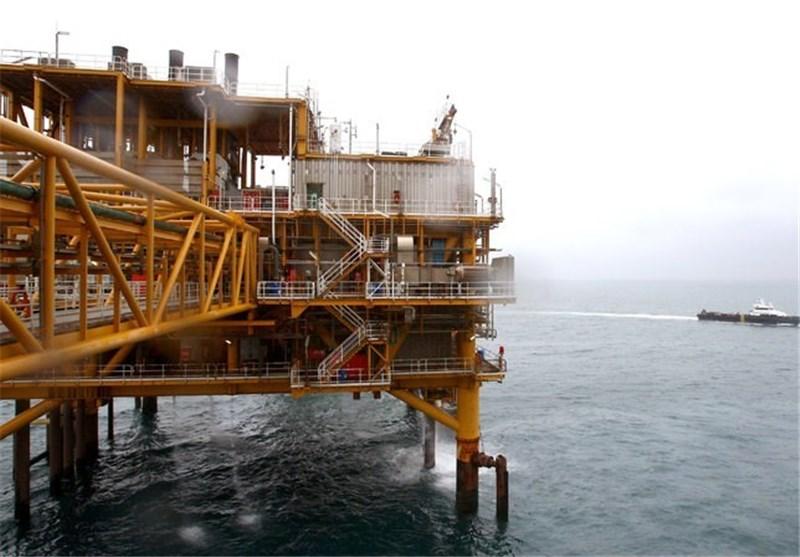 سکوی گازی / سکوی استخراج گاز / سکوی استخراج گاز پارس جنوبی / سکوی استخراج گاز در پارس جنوبی / میدان گازی پارس جنوبی
