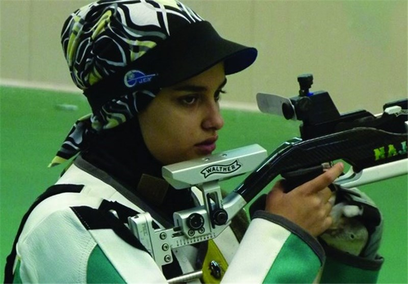 Iranian Shooter Khedmati Wins Gold at Asia Olympic Qualifying