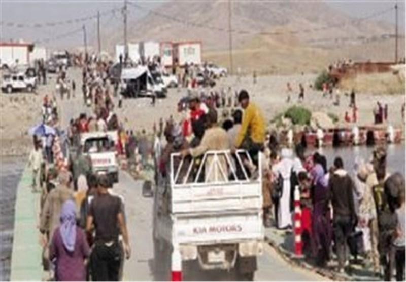 سوریا تستقبل ألف أسرة عراقیة نازحة من جبل سنجار