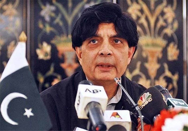 نثار علی خان وزیر کشور پاکستان