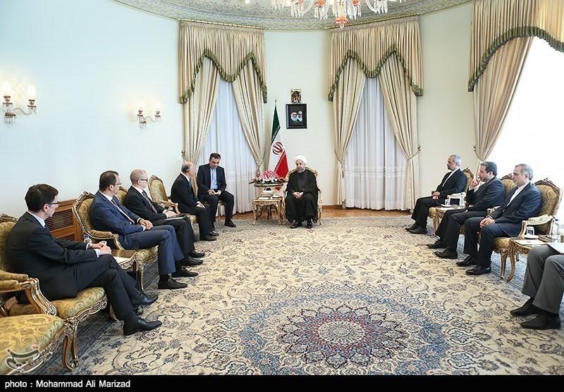 IAEA Chief Meets with Iranian President