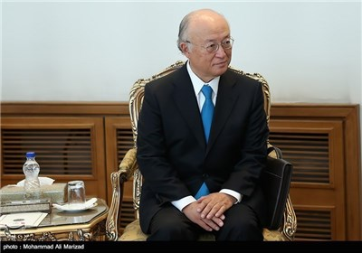 IAEA Chief Meets with Iranian President